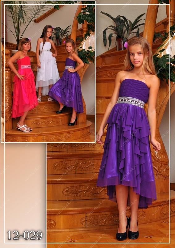 платье для девочки 11-12 лет фото