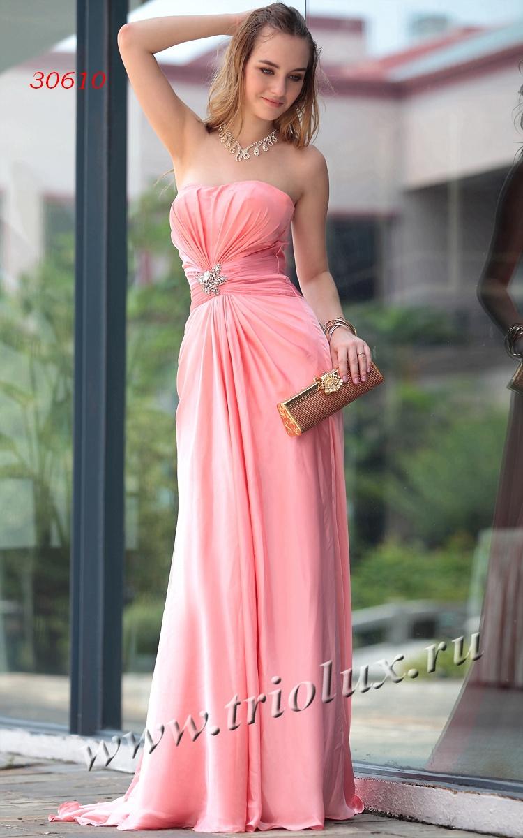 Розовое Вечернее Платье Купить